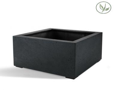 Paris Low Cube 80 - Antraciet (80x80x60)