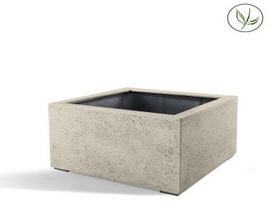 Paris Low Cube 60 - Oud wit (60x60x40)