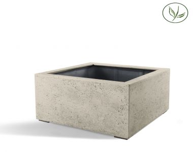 Paris Low Cube 80 - Oud wit (80x80x60)