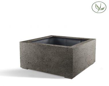 Paris Low Cube 60 - Betongrijs (60x60x40)