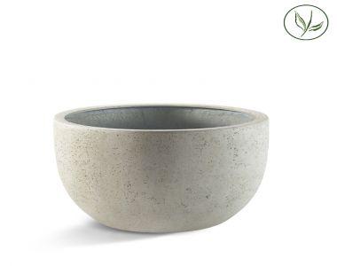 Paris New Egg Pot Low 80 - Oud wit (80x47)